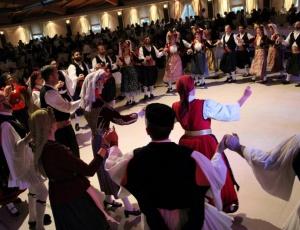 Εορταστική εκδήλωση για την κοπή της Πρωτοχρονιάτικης πίτας του Περιφερειακού Τμήματος Χορού Αλμυρού του Λυκείου των Ελληνίδων Βόλου
